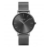 CLUSE Horloges La Boheme Mesh Full Dark Grey Grijs