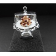 Potato Cakes In A Glass Dome Ring