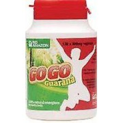 Rio Amazon Rio Amazone, GoGo Guarana 500mg, 120 vegicaps