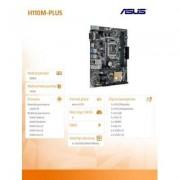 Asus H110M-PLUS s1151 H110 2 DDR4 USB3.0/DVI/D-sub uATX