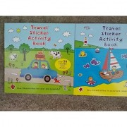 Travel Sticker Activity Book (With Over 50 Stickers) Assorted Art Cover Varies)