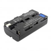 Sony NP-F550 akkumulátor 2600mAh utángyártott