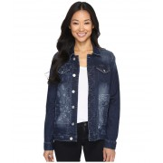 Jag Jeans Lowen Laser Mission Denim Jacket in Rapid Dark Rapid DarkBandana