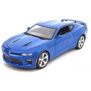 New 1:18 W/B SPECIAL EDITION - BLUE 2016 Chevrolet Camaro SS Diecast Model Car By Maisto