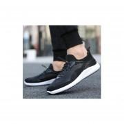 Zapatos de hombre nuevos coreanos negro