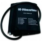 Brazalete de velcro negro para tensiómetro Riester. Tamanho adulto (três modelos)