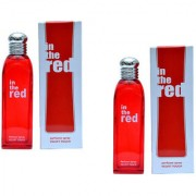 In the Red unisex Perfume Spray for women combo of 2 100 ml