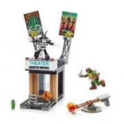 Figurina Mega Bloks Teenage Mutant Ninja Turtles Raph Rooftop Blast-Out
