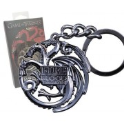 Noble Collection Game of Thrones - Metal Keychain Targaryen Sigil