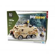 Joc constructie Blocki, Vehicul militar de lupta, 180 piese