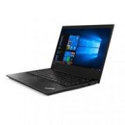 "Лаптоп Lenovo ThinkPad E480 (20KN001QBM/3), четириядрен Kaby Lake R Intel Core i5-8250U 1.6/3.4GHz, 14.0"" (35.56 cm) Full HD IPS дисплей(HDMI), 8GB DDR4, 256GB SSD, 1x USB 3.1 Type-C, Windows 10 Pro, 1.75kg"