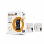 CareSens N Premier glucometru + 100 teste, testare rapida si precisa, ecran luminos, bluetooth, nu necesita codare