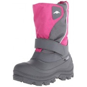 Tundra Quebec N Winter Boot (Infant/Toddler/Little Kid/Big Kid), Fuchsia Charcoal, 3 M US Little Kid