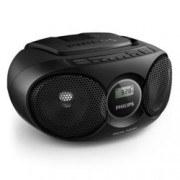 CD радиокасетофон Philips AZ215B, CD, FM, 3W (RMS)