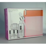 Clinique Uplifting Firming Cream 15 ml+ Laser Focus wrinkle Correcting eye cream 5ml + Laser Focus Smooths, Restores, Corrects 30ml + Beauty Box