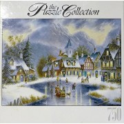 Winter in the Village - 750 Piece Jigsaw Puzzle