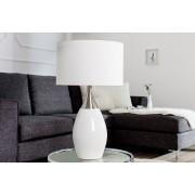 Bighome.cz Bighome - Stolní lampa CARLY 60 cm – bílá