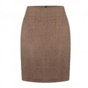 Anna Lascata Bernice skirt - beige stone