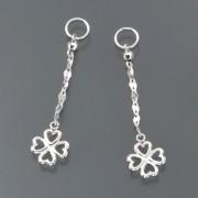 18K クローバーデザイン チャーム【QVC】40代・50代レディースファッション
