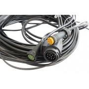 Arnés de cableado 5,25 m para luces de remolque enchufe 13 pin
