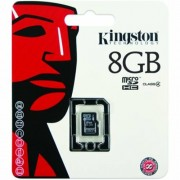 Memóriakártya, microSDHC, 8GB, C4, 4 MB/s, KINGSTON (MKMS8G)