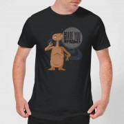 E.T. the Extra-Terrestrial Camiseta E.T. el extraterrestre Where Are You From? - Hombre - Negro - S - Negro