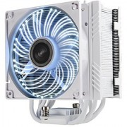 Enermax White CPU Air Cooler with PDF Design DFR Technology autoplay LED White (ETS-T50A-WVS)