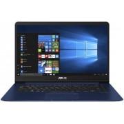 "Ultrabook™ ASUS ZenBook UX530UQ-FY031T (Procesor Intel® Core™ i7-7500U (4M Cache, up to 3.50 GHz), Kaby Lake, 15.6""FHD, 8GB, 512GB SSD, nVidia GeForce 940MX @2GB, Wireless AC, Tastatura iluminata, FPR, Win10 Home, Albastru)"