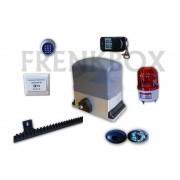 Kit apricancello scorrevole completo 433 Mhz velocità regolabile 550w watt