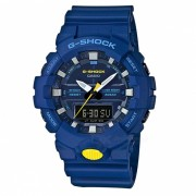 reloj digital analogico estandar casio g-shock GA-800SC-2A-azul