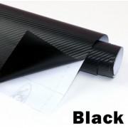 Folie colantare auto Carbon 3D Professional - NEGRU (1m x 1,52m)