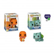 Charmander y Bulbasaur Funko pop Pokemon