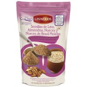 Linwoods Flax Seeds-Almonds-Nuts-Brazil Nuts 200g-CoQ10