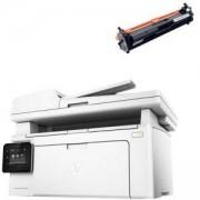 Лазерно многофункционално устройство HP LaserJet Pro MFP M130fw Printer, монохрoмен, G3Q60A + СЪВМЕСТИМА ТОНЕР КАСЕТА HP 17A BLACK CARTRIDGE 217A