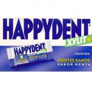 CHICLE HAPPYDENT MENTA 200 UDS.