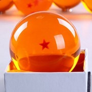 ANDOO (Large/76MM) Star Dragonball Z Stars Crystal Replica Ball with Gift Box(Large/1 Stars)