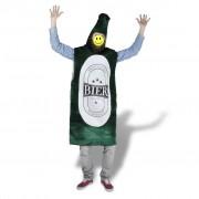 vidaXL Карнавален костюм бирена бутилка, размер М-L