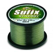Fir Monofilament Sufix Synergy Carp, Trans Green, 1000m