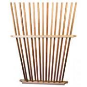 Suporte de madeira para 15 picas