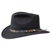 Stetson Chapeau Suffern Traveller noir