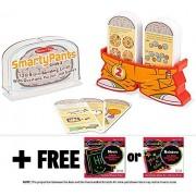 2nd Grade Smarty Pants Card Game Set + FREE Melissa & Doug Scratch Art Mini-Pad Bundle