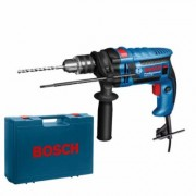 Perceuse à percussion 600W GSB 13RE Bosch Professional Mandrin 13mm + Mallette - Perceuses