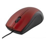 Deltaco trådad optisk mus, 3 knappar med scroll, 1200 DPI