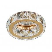 Azzardo AZ1450 - Lampă încastrată de cristal ESTER 1xGU10/50W/230V