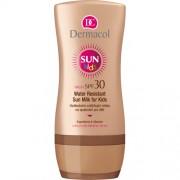 Dermacol Lotiune de protectie solara, hidratanta, impermeabila pentru copii SPF 30 Sun Kids (Water Resistant Sun Milk for Kids) 200 ml