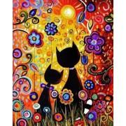 Gaira Malování podle čísel Kočky v květech M991094