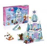 Tabu Toys World 299 pcs Sparkling Ice Castle Building Blocks