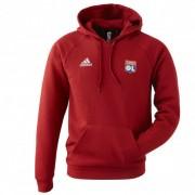 adidas Sweat-shirt TAN HOODED rouge adidas Homme - XS OL - Foot Lyon