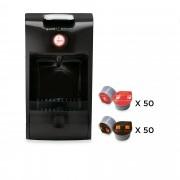 Guzzini Macchina caffe con 100 capsule Hausbrandt