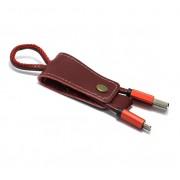USB data kabal Pendant microUSB crveni